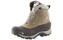 The North Face Chilkat II  Winterschoenen Dames bruin/blauw
